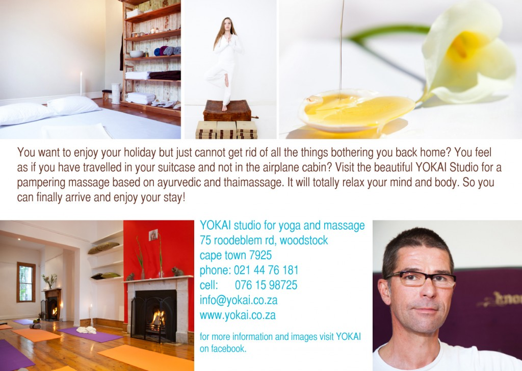 YOKAI Studio for Yoga and Massage, Cape Town South Africa